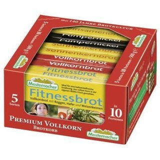 Mestemacher Brotkorb 10 Stück 500g