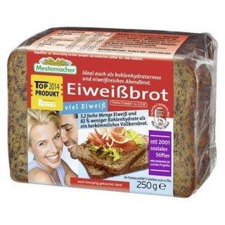 Mestemacher protein bread ready to eat, sliced, 12% protein 250 g