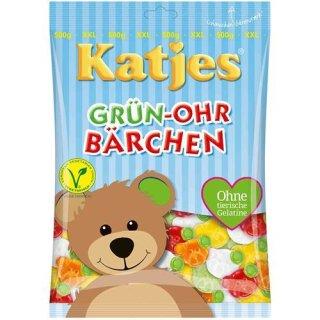 Katjes Grün Ohr Bärchen