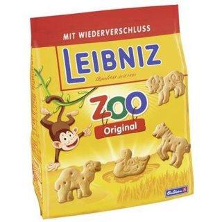 Leibniz Zoo Butter Biscuits 125 g bag