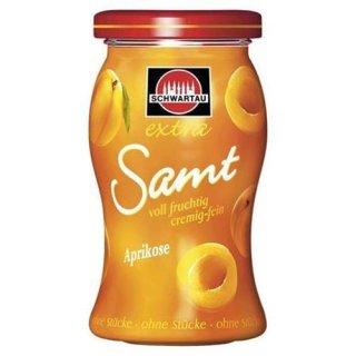 Schwartau Samt Konfitüre Aprikose 270 g Glas