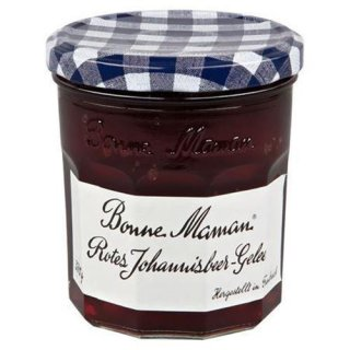 Bonne Maman Jam Red currant juice creamy - 370 g