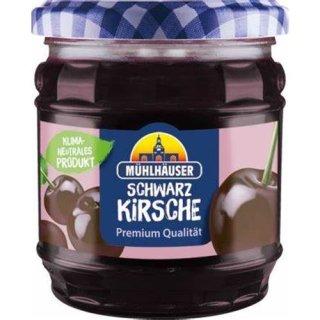 Mühlhäuser Extra Konfitüre Schwarze Kirsche 450 g