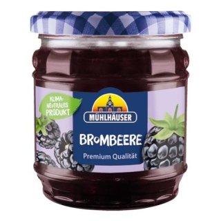 Mühlhäuser Extra Konfitüre Brombeere 50 % Frucht 450 g