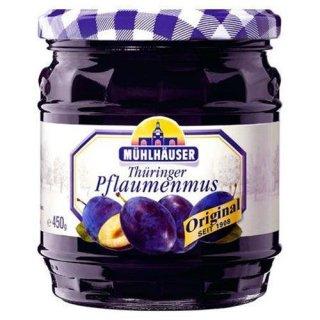 Mühlhäuser Thueringer Pflaumenmus 450 g