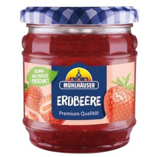 Mühlhäuser Extra Jam strawberry 450 g