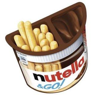 Nutella & Go! crispy bread sticks and nut nougat cream 52 g