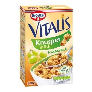 Dr. Oetker Vitalis Crispy Flakes Crunchy cereals