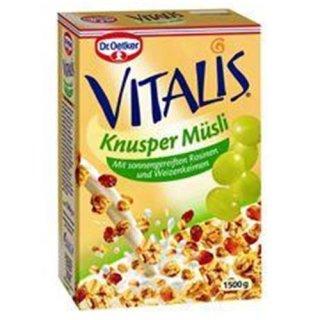 Dr. Oetker Vitalis Crunchy Flakes Crunchy cereal 1.5 kg