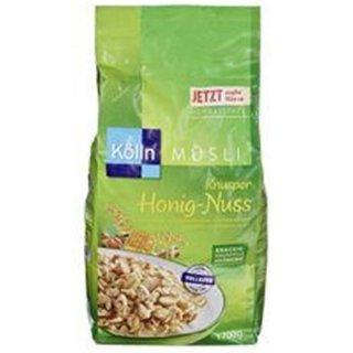 Kolln cereals Crunchy honey-nut 1,7kg