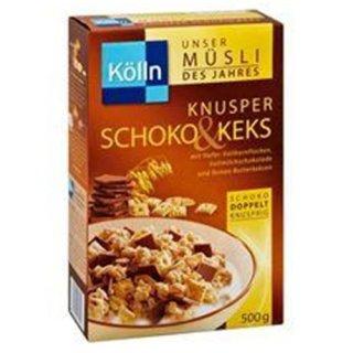 Kolln cereals Crispy chocolate & biscuit