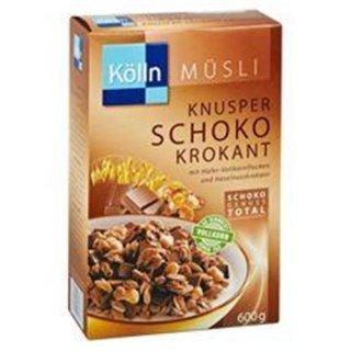 Kölln Müsli Knusper Schoko Krokant
