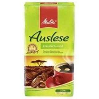 Melitta Auslese Cafe klassisch-mild 500g