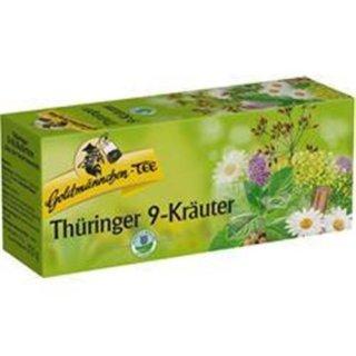 Goldmännchen-Tee Thüringer 9-Kräuter