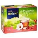 Meßmer herbal tea 6-herbs (big box)