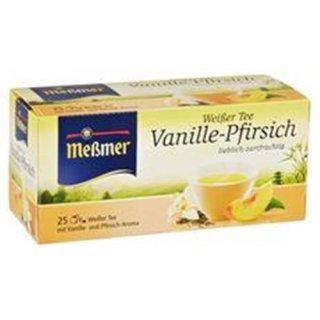 Messmer White Tea Vanilla Peach