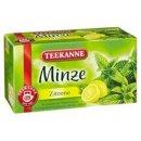Teekanne Minze Zitrone
