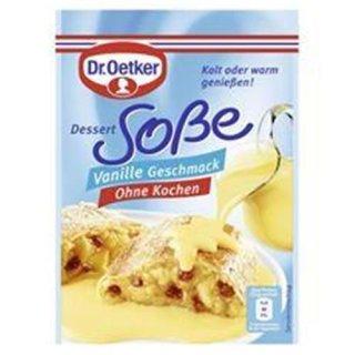 Dr. Oetker Dessertsoße Vanille ohne kochen