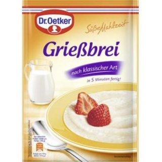 Dr. Oetker sweet meal semolina pudding