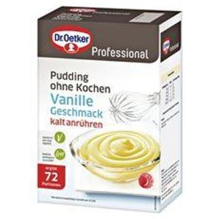 Dr. Oetker pudding vanilla without cooking