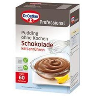 Dr. Oetker pudding chocolate without cooking