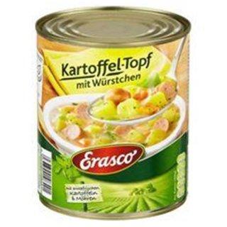 Erasco potato pot with sausages 800ml