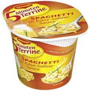 Maggi 5 minutes terrine spaghetti in cheese cream sauce