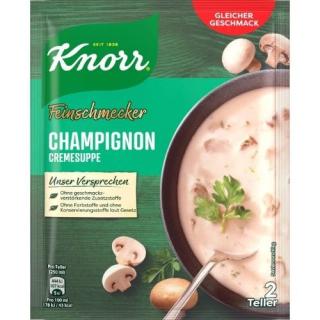 Knorr gourmet mushroom cream soup