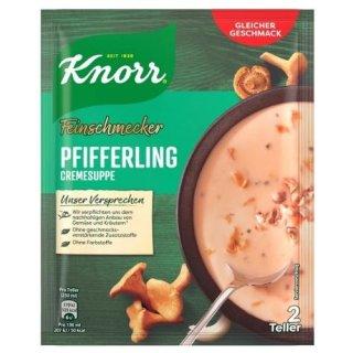 Knorr Feinschmecker Pfifferlingcremesuppe