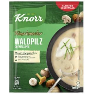 Knorr gourmet forest mushroom cream soup