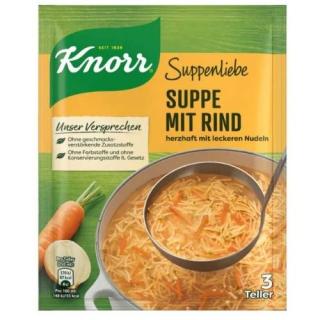 Knorr Suppenliebe Suppe mit Rindfleisch
