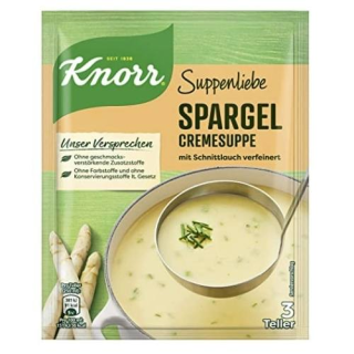 Knorr Soup Love asparagus cream with chives