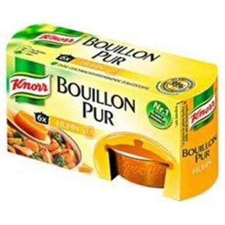 Knorr Bouillon Pur Huhn