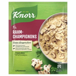 Knorr Fix cream mushrooms