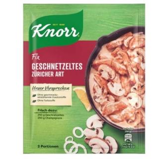 Knorr Fix meat Zurich style