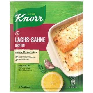 Knorr Fix salmon cream gratin