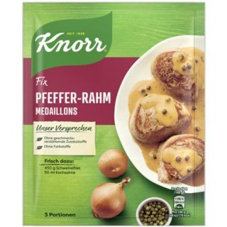 Knorr Fix Pepper-Cream Medallions