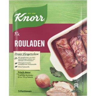 Knorr fix roulades