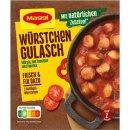 Maggi Fix & Frisch Würstchen Gulasch