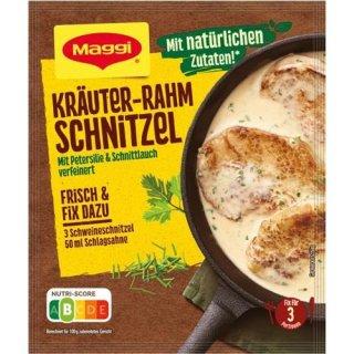 Maggi Fix & Fresh Herb Cream Schnitzel