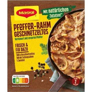 Maggi Fix & Frisch Pfeffer-Rahm Geschnetzeltes