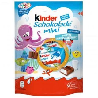 Kinder Riegel mini - Sweet German Chocolate