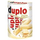 Duplo White 10er Pack -  Long Pralines - Waffle And...
