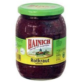 Hainich red cabbage ready to eat 680GR